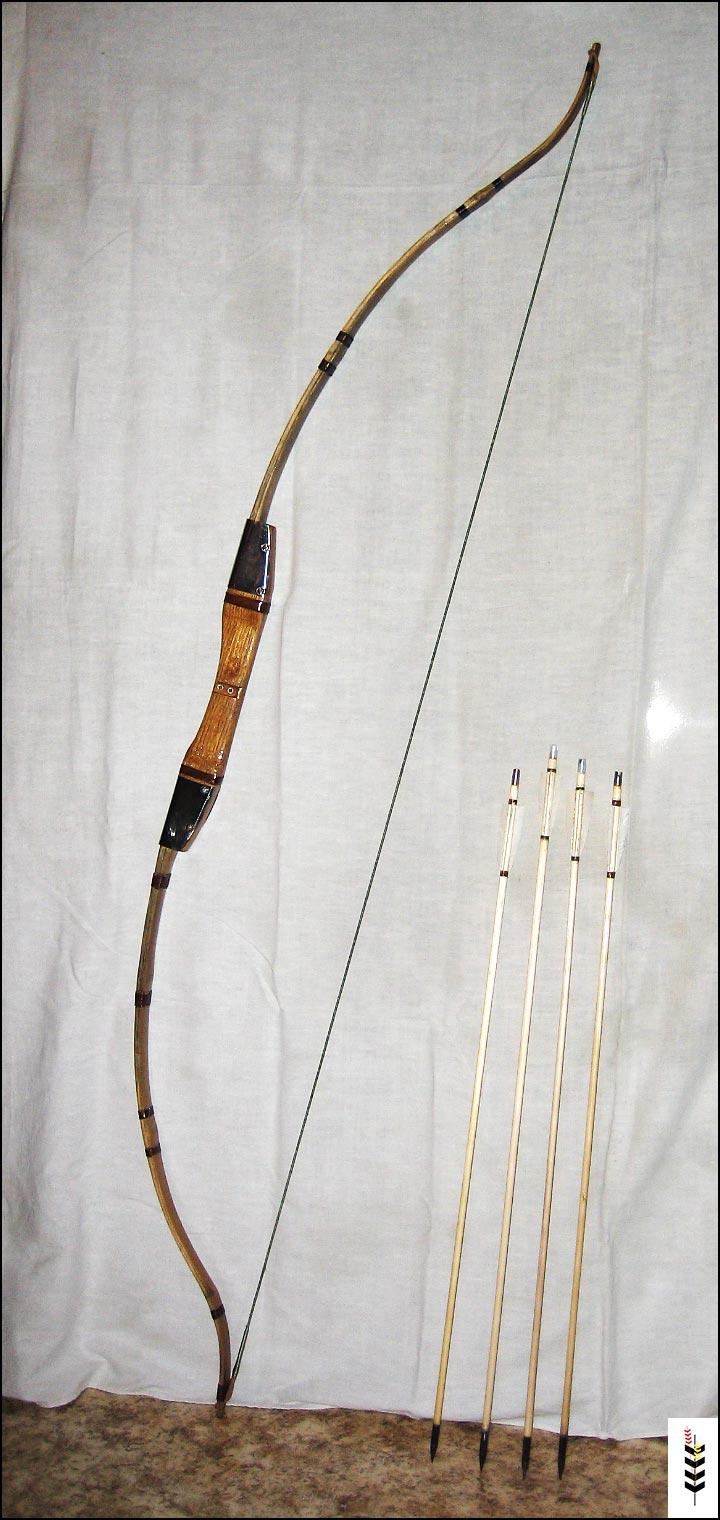 Как сделать лук из бамбука своими руками 8